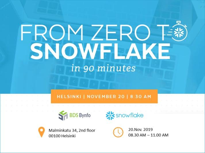 Zero to Snowflake-1